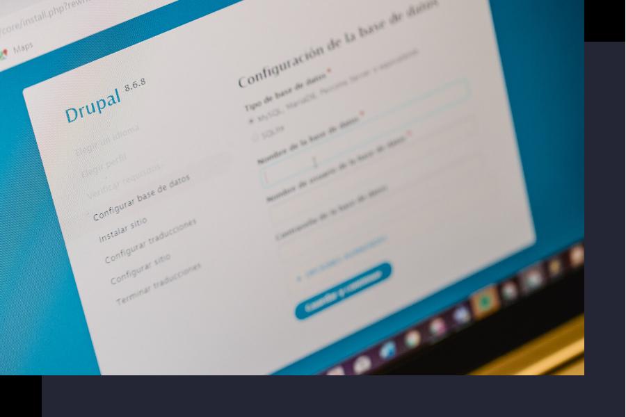 Diseño web Drupal