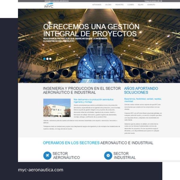 Páginas web de empresas